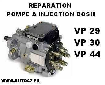 forfait reparation module de pompe a injection bosch vp alzgo fr. Black Bedroom Furniture Sets. Home Design Ideas