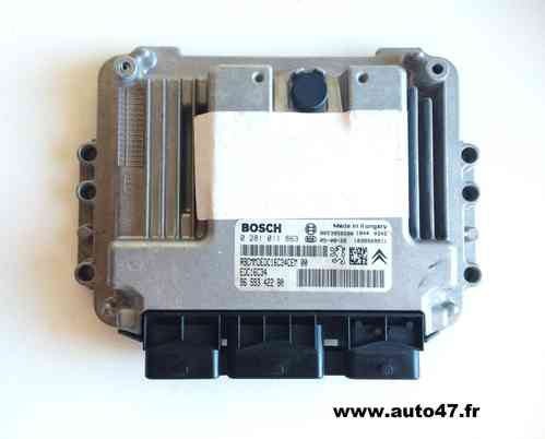 CALCULATEUR BOSCH PEUGEOT 307 Ref : 0 281 011 863