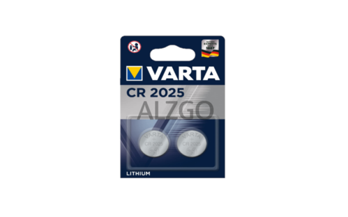 LOT DE 2 PILES VARTA CR 2025